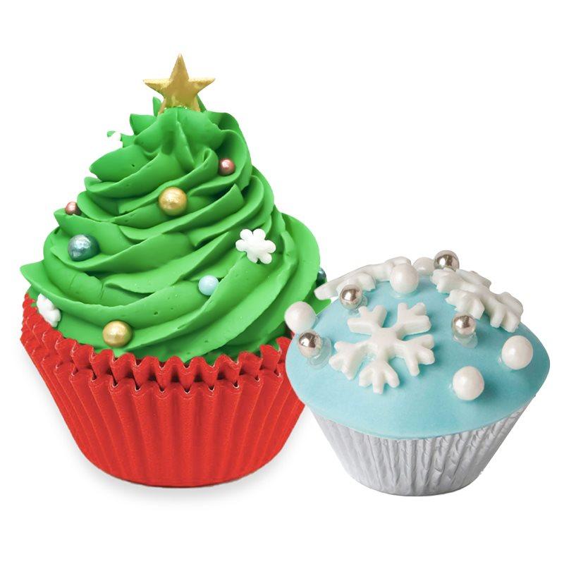 Christmas Cupcake Supplies