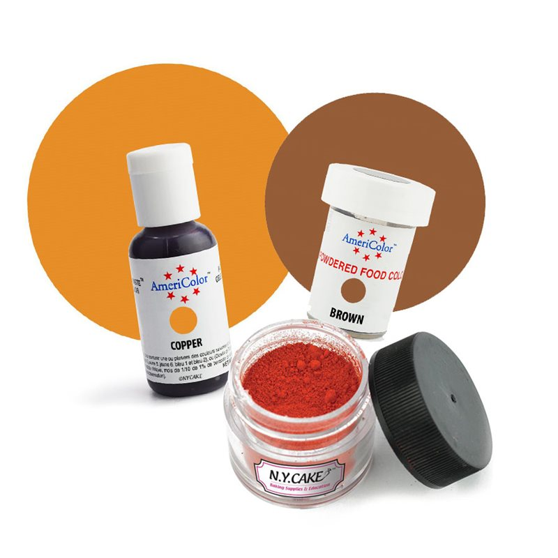 Thanksgiving Food Colors & Powders
