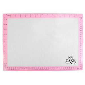 Pink Silicone Baking Mat Half Sheet 12 Inches x 17 Inches