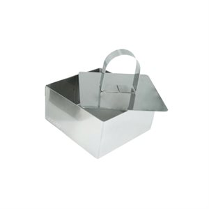 Square Mousse Molds 2 5 / 8 Inches Wide
