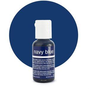 Navy Blue Liqua-Gel Color - .70 ounce By Chefmaster
