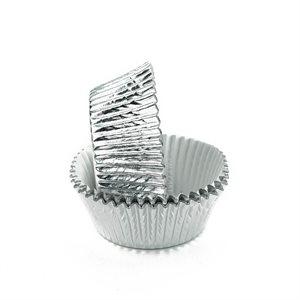 Silver Foil Standard Cupcake Baking Cup Liner