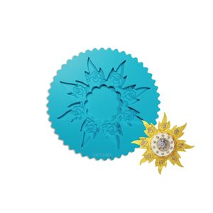 Pointsettia Silicone Mold By Colette Peters