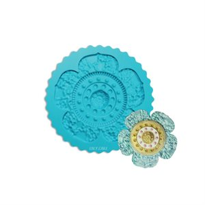 Primrose Silicone Mold By Colette Peters