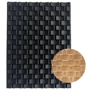 Basket Weave Silicone Baking-Decorating Impression Mat