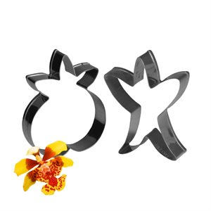 Oncidium Orchid Petal & Leaf Cutter by James Rosselle