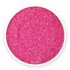 Hot Pink Natural Sanding Sugar 8 Ounces