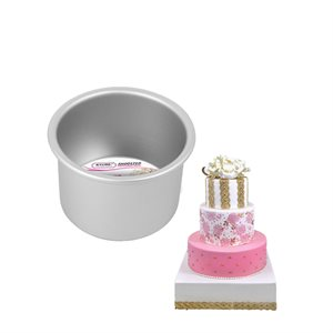 Round Cake Pan 4 by 3 Inch Deep