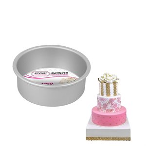 Round Cake Pan 5 by 2 Inch Deep