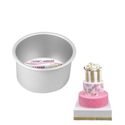 Round Cake Pan 5 by 3 Inch Deep