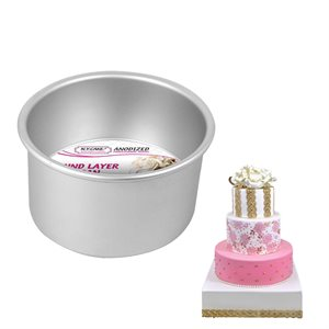 Round Cake Pan 6 by 4 Inch Deep