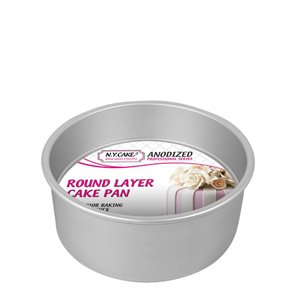 Round Cake Pan 8 by 4 Inch Deep