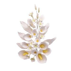 Calla Lily Spray Sugar Flowers