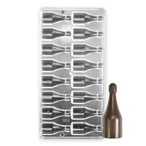 Wine Bottle Polycarbonate Chocolate Mold