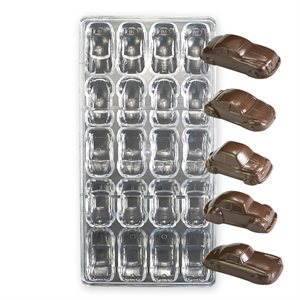 Cars Polycarbonate Chocolate Mold