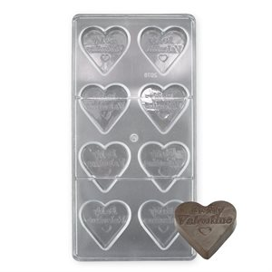 Be My Valentine Polycarbonate Chocolate Mold