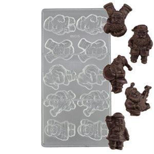 Musical Santa Polycarbonate Chocolate Mold