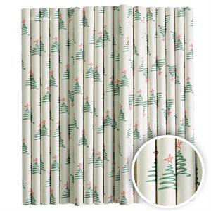 Christmas Trees Cake Pop Sticks- 6 Inch -Pack of 25