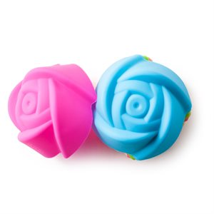 Rose Silicone Cupcake Liners Set of 12