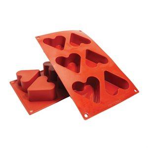 Heart Silicone Baking Mold 4.4 Ounce