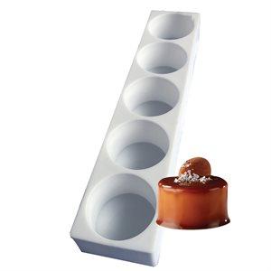 Cylinder Silicone Baking & Freezing Mold 5.6 oz.