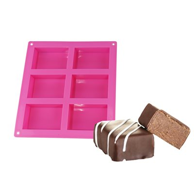 "Silicone Baking Mold-Rectangle 2 1 / 4""x 3 1 / 4"""