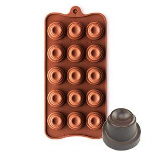 Spiral Cone Silicone Chocolate Mold