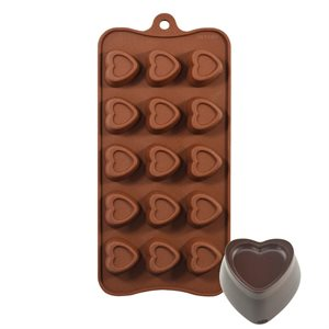 Stamped Heart Silicone Chocolate Mold