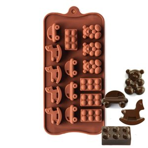 Play Time Silicone Chocolate Mold