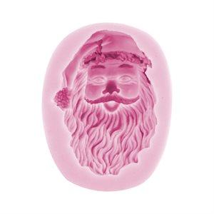 Santa Claus Face #2 Silicone Mold
