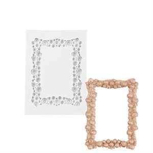 Rectangle Sparkle Picture Frame Silicone Mold