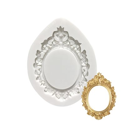 Oval Frame Silicone Mold