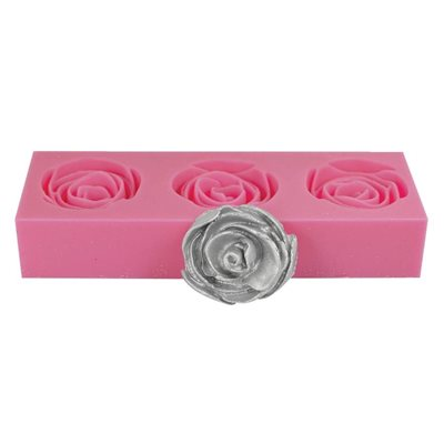3D Rose Silicone Fondant Mold