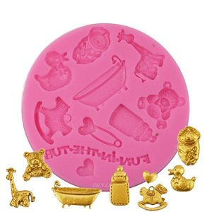Baby Things Silicone Fondant Mold