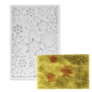 Butterfly, Flowers Bloom Cluster Silicone Mold