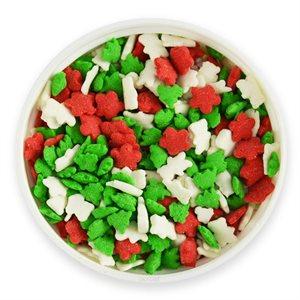 Happy Holidays Christmas Jimmies Sprinkles