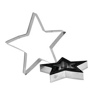 Star Cutter Set Stainless Steel