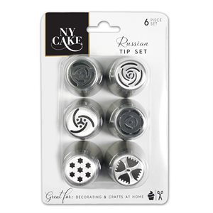 Stainless Steel Russian 6 Pcs.Tip Set