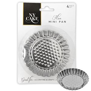 Mini Flan Pan Set of 4