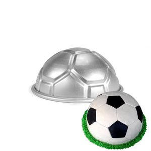 Soccer Ball Cake Pan 3 Inch