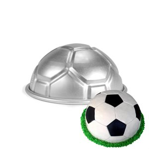 Soccer Ball Cake Pan 3 1 / 2 Inch