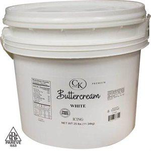 PHO Free White Buttercream 25 Pounds
