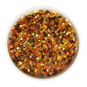 Metallic Fall Blend Glittery Sugar 3 Ounces