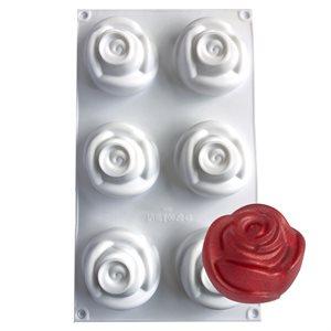 Rose Silicone Baking & Freezing Mold 4.9 oz.