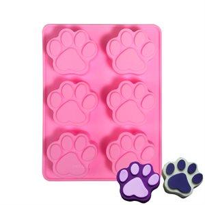Silicone Baking Mold-Paw Shape 6 Cavity