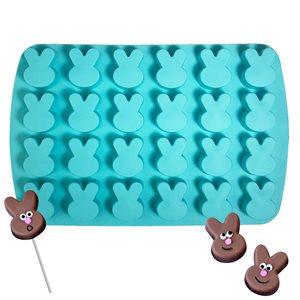 Silicone Baking Mold-Bunny Shape 24 Cavity