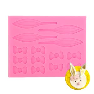 Bow's and Ears (Bunny Rabbit Mold)