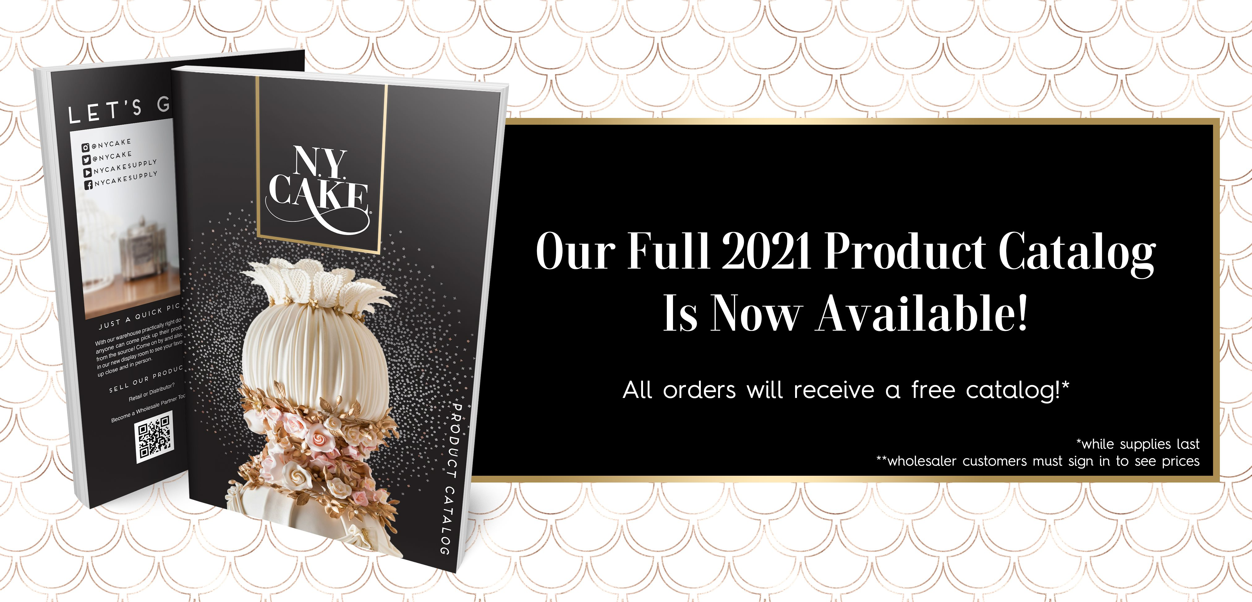 NY Cake Full Product Catalog 2021
