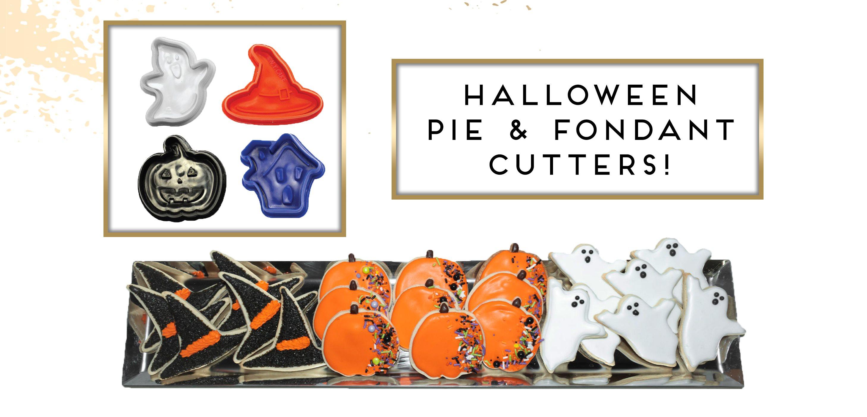 Halloween Pie Fondant Cutter