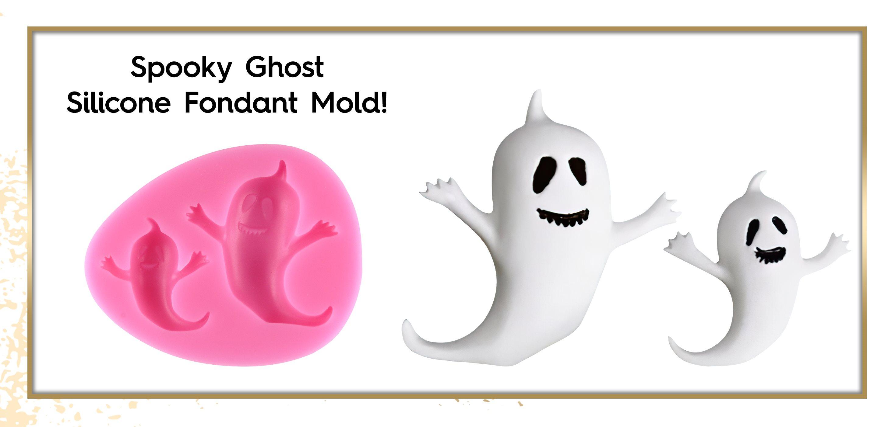Ghost Silicone Fondant Mold